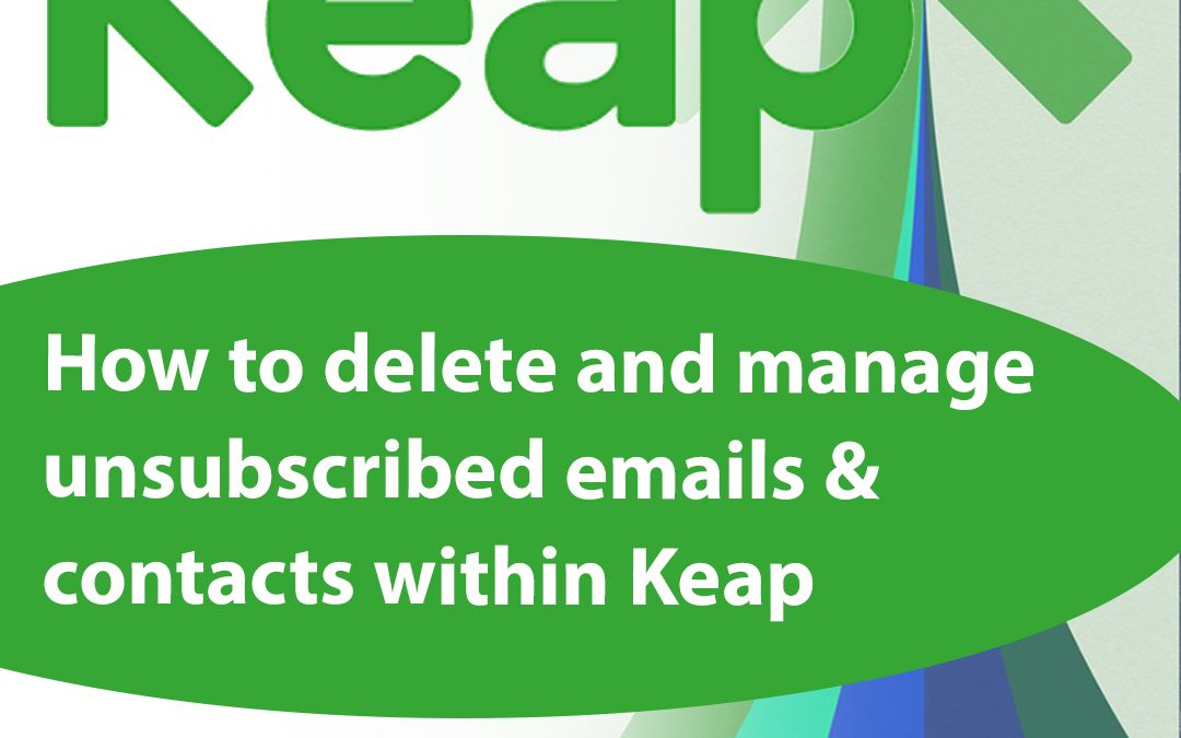 How to Delete Contacts in Keap | Step-by-Step Guide