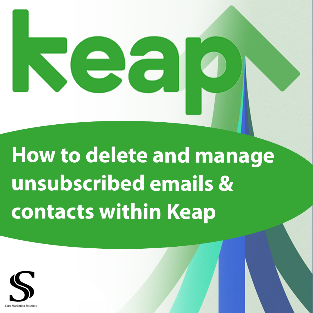 How to delete or remove emails and contacts from keap