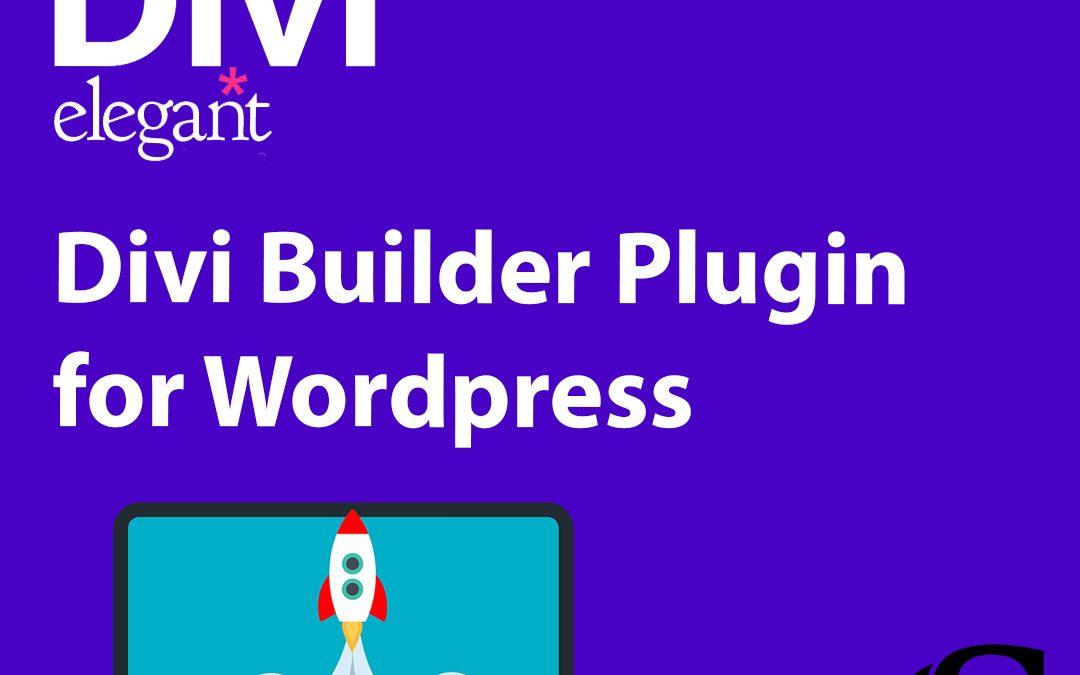 Divi Builder Plugin for WordPress